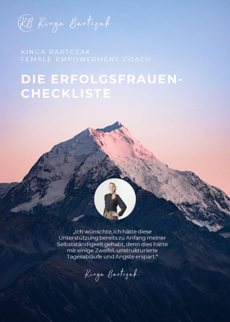 Erfolgsfrauen-Checkliste