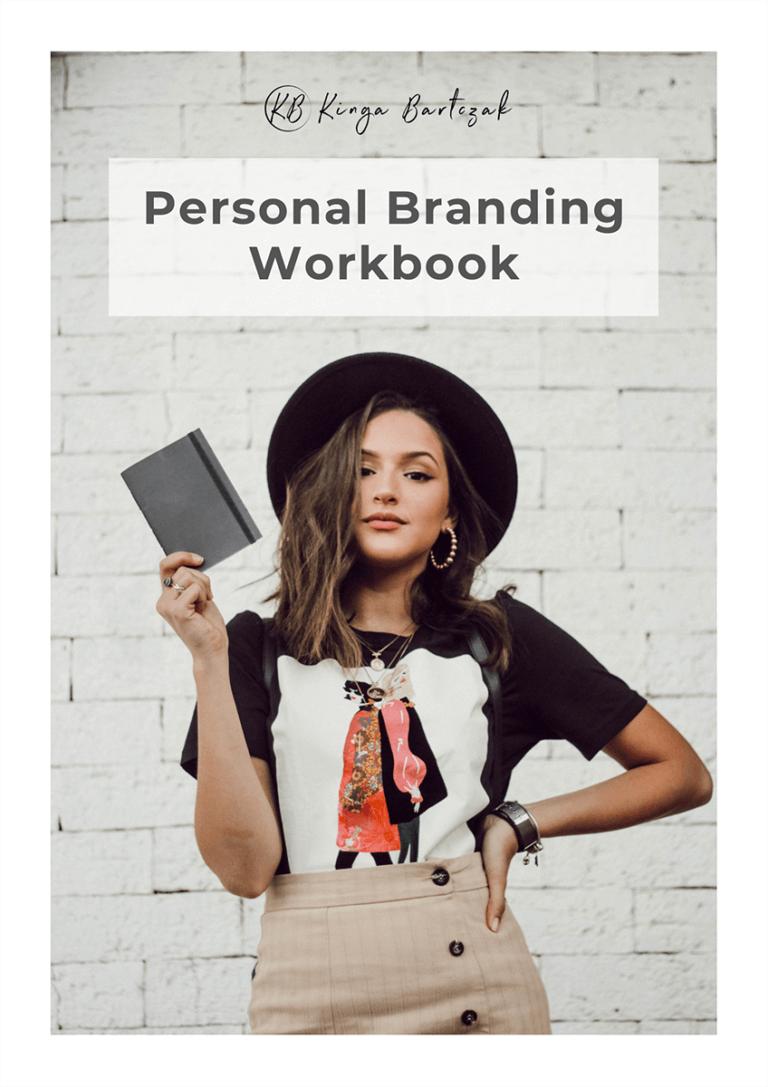 Personal Branding Workbook Titelseite