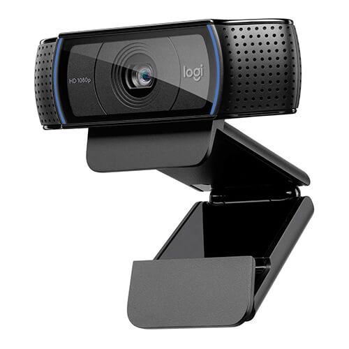 Logitech C920 Webcam 1920 x 1080 Pixel USB 2.0 Schwarz