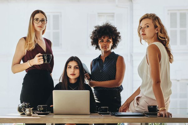 Female Leadership Community-Bild
